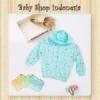 Jaket Bayi Piteku Cat biru  medium