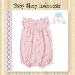 Jumpsuit Bayi Pink Unicorn  large