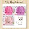 PK173 Baju Anak Perempuan Lengan Panjang Sweater Kaos Anak Lengan Panjang Ribbon Kitty  medium