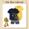 Setelan Jumpsuit Yellow Navy Excavator  medium