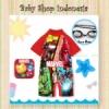 W068 Baju Renang Anak Cowok Kartun Import Marvel  medium