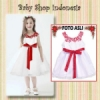 dress anak import dress natal anak dress anak putih dress anak import murah dress putih anak  medium