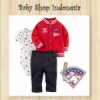 jaket carters merah  medium
