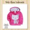 jaket perempuan Magenta Cat  medium