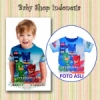 kaos anak pjmasks baju anak pj masks  medium