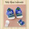 sepatu citcit mickey biru  medium