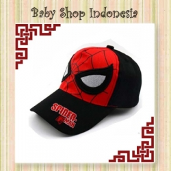 topi pad spiderman new  large